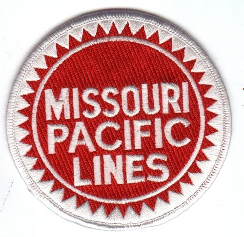 Railroad 100% Embroidered Patch Collectible - Missouri Pacific Lines ()