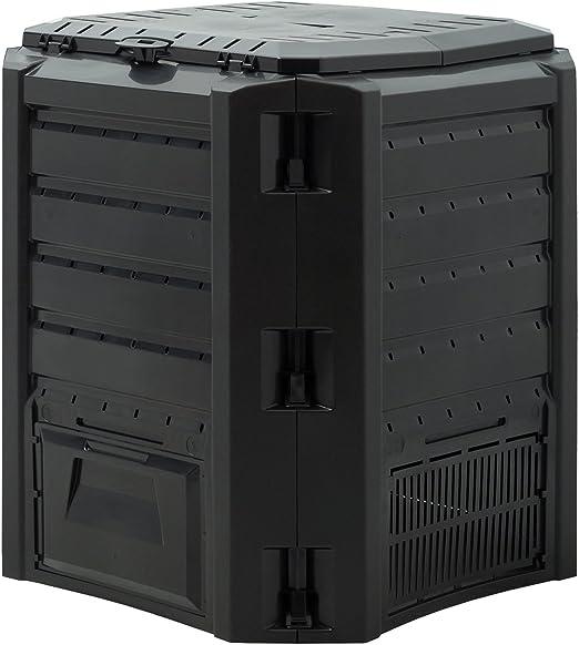 Compostador rápido 380 litros – Compostador termocompostador (: Amazon.es: Jardín