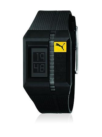 Puma 289100125PU910511004 - Reloj digital de cuarzo para hombre, correa de plástico color negro: Amazon.es: Relojes