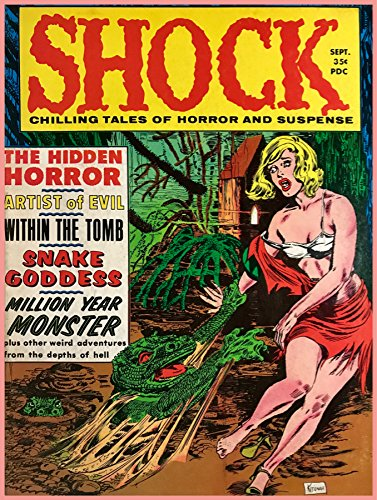 "Short Run Posters 24""x36"" Poster home decoration.Shock horro"