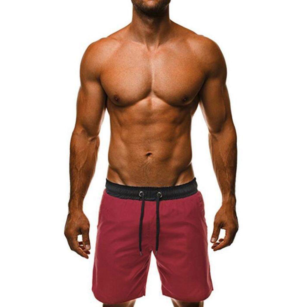 Breathable Shorts Mens Swim Trunks Beach Surfing Running Water Pants SPE969