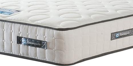 Sealy Bolsillo Plata Génova 1200 colchón de tensión Media, Plateado, Doble (135 x