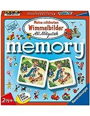 Meine schönsten Wimmelbilder Memory®: der Spieleklassiker für alle Wimmelbilder Fans, Merkspiel für 2-4 Spieler ab 2 Jahren