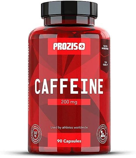 Prozis Cafeína Estimular la Concentración, los Niveles de Energía ...