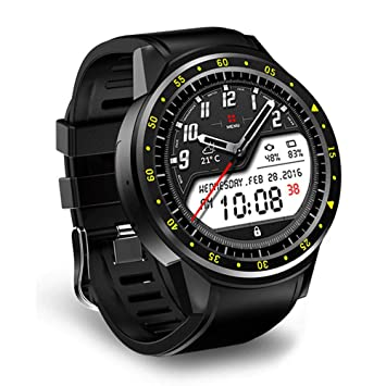 ZXT Sport Reloj Inteligente con cámara GPS Soporte ...