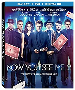 Cover Image for 'Now You See Me 2 [Blu-ray + DVD + Digital HD]'