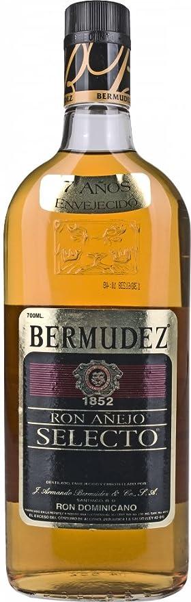 Berm udez Anejo Selection 7 Anos Rum (1 x 0,7 l): Amazon.es: Alimentación y bebidas
