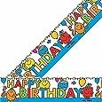 Mr Men Foil Happy Birthday Banner - 12 x 365cm