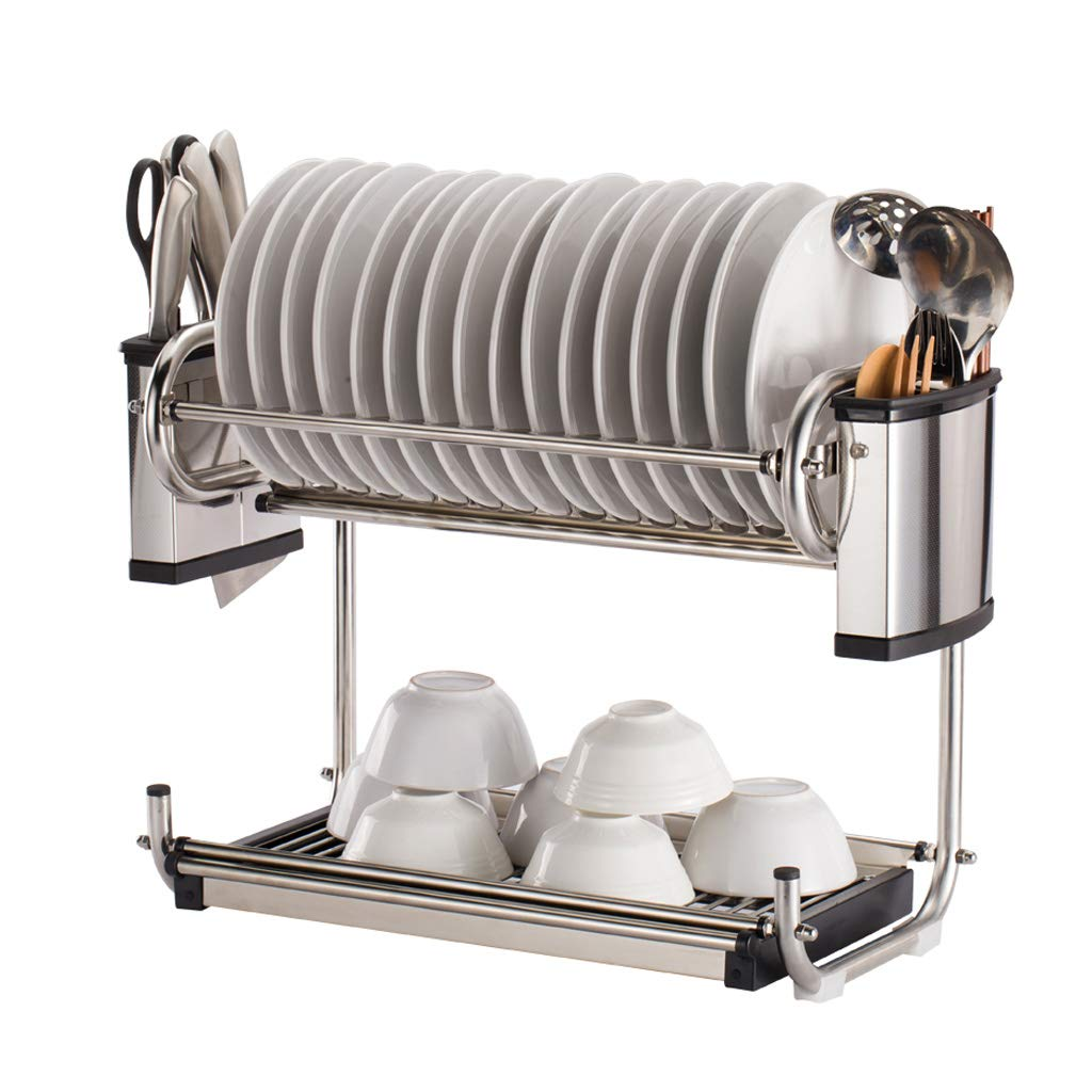 PM-Shelf Kitchen Rack Stainless Steel Drain Rack 58 24 39cm
