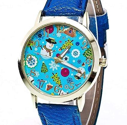 Relojes para mujer, ICHQ hembra Relojes U letra de cristal patrón