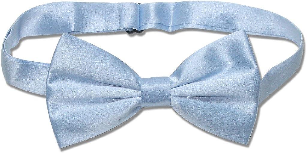 Heavenly Blue /& Silver Bow Tie