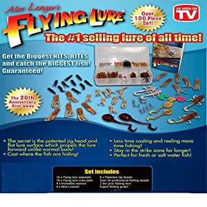 Alex langer 39 s flying lure fishing lure kit for Fishing lure as seen on tv
