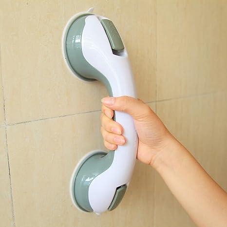 Bathroom Tub Super Grip Suction Handle Shower Safety Cup Bar Handrail Safe