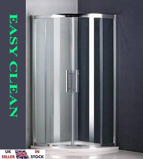 5 mm cristal rincones Cuadrante Enclosure Cubículo de ducha de ...