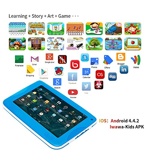 NPOLE Kids Tablets Android 7 Inch 1280x800 IPS Display ...