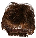Textured Cut Wig  Color R10 CHESTNUT - Hairdo Wigs Short Feathered Modern Tru2Life Heat Friendly Synthetic Wispy Bang