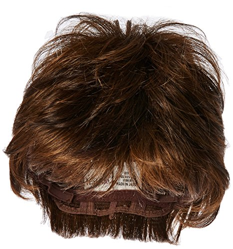 Textured Cut Wig  Color R10 CHESTNUT - Hairdo Wigs Short Feathered Modern Tru2Life Heat Friendly Synthetic Wispy Bang by HairDo