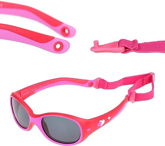 Squarex Lunettes de soleil r/étro anti-UV pour enfants de 3 /à 12 ans Enfants gar/çons et filles 8 couleurs