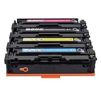 para HP CF500ACF501A CF502A CF503A Cartucho de tóner M254dn ...