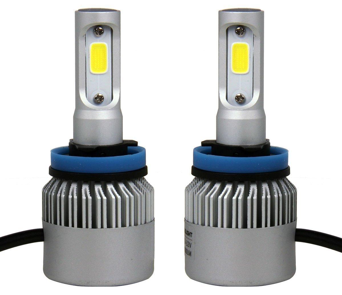 Amazon com: 8000 Lumens COB Led Headlights for 2012 BUICK VERANO Fog