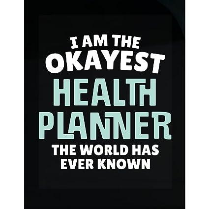 amazon com gift for health planner work coworker present sticker