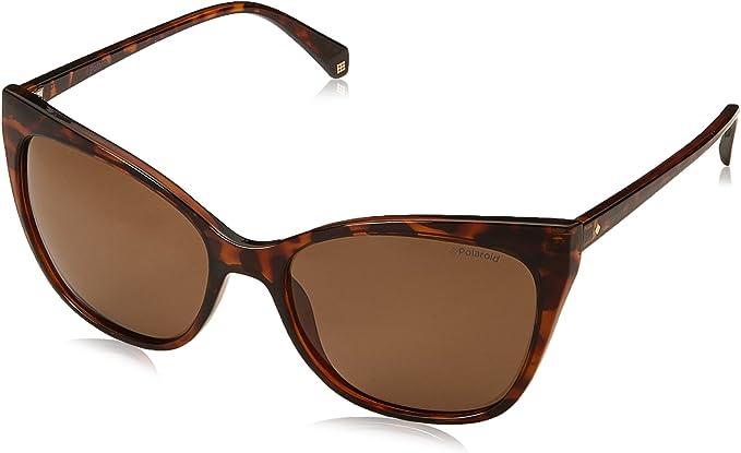 Polaroid PLD 4060/S SP 086 57 Gafas de sol, Marrón (Dark Havana/Gd Gold), Mujer