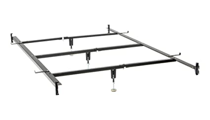 Amazoncom Full To Queen Converter Rail Hook On With 3 Center