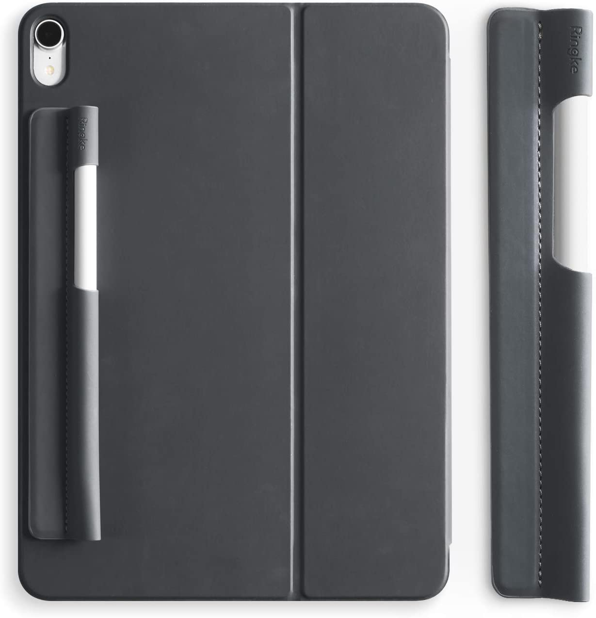 Ringke Pen Sleeve Charcoal Gray Designed for Apple Pencil, Journal, Tablets, and More