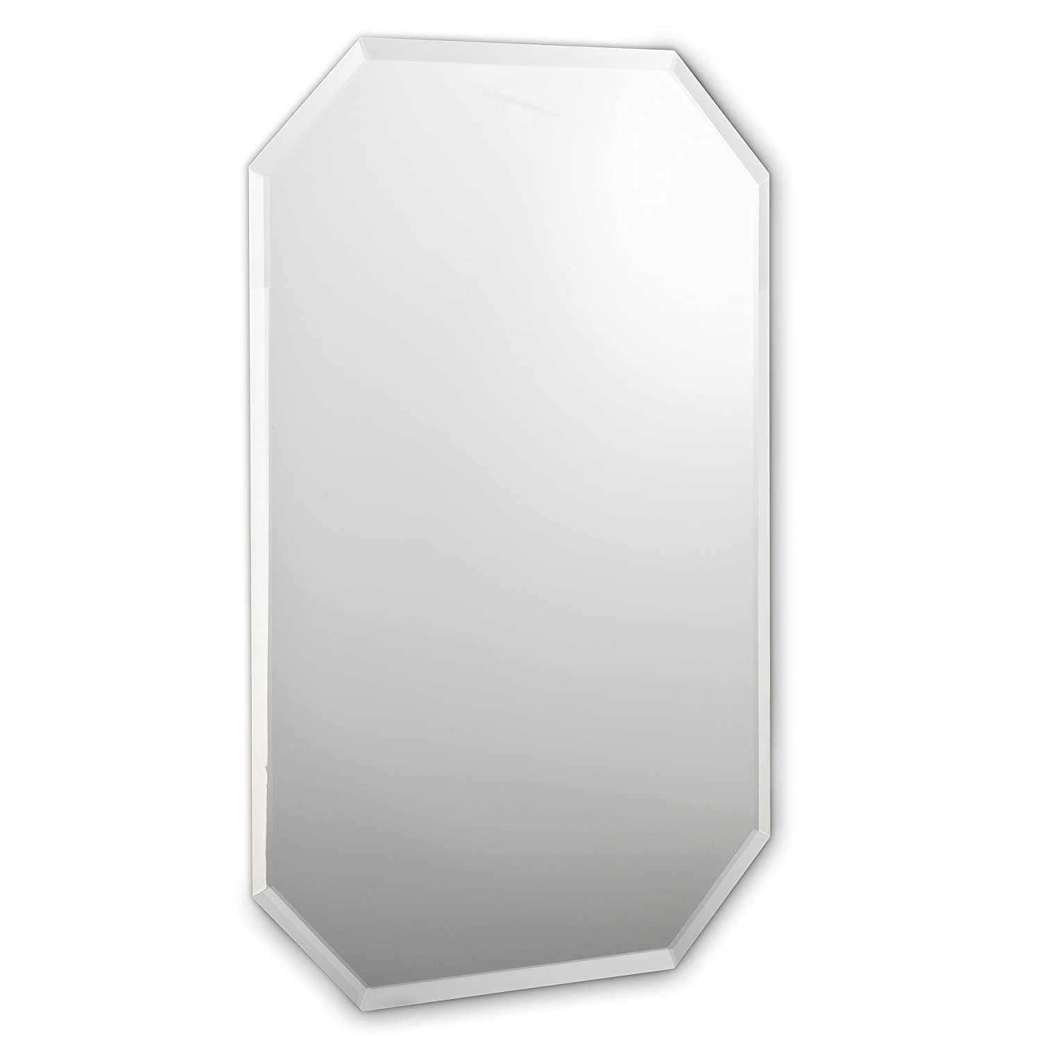Abbott Collection Home 21-PARLOUR//525 Large 8 Sided Mirror with Bevel