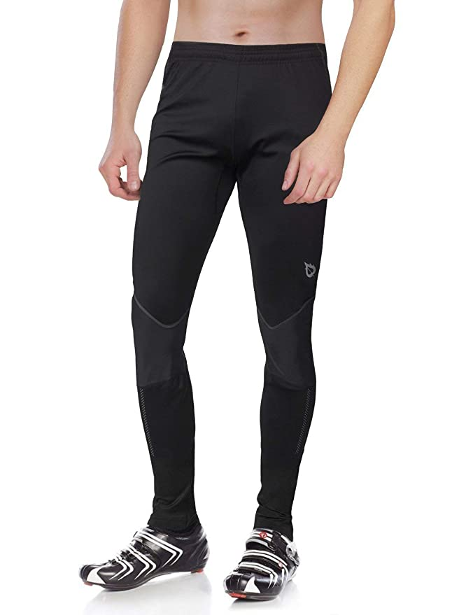 BALEAF Men's Thermal Cycling Running Tights Fleece Athletic Pants