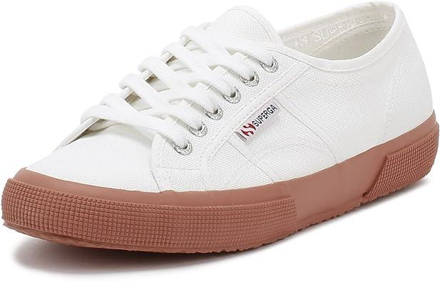 Superga Womens White/Rose 2750 Cotu