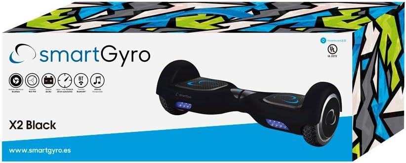 Comprar SmartGyro X2 UL v.3.0 Black - Potente Patinete Eléctrico, Ruedas de 6.5