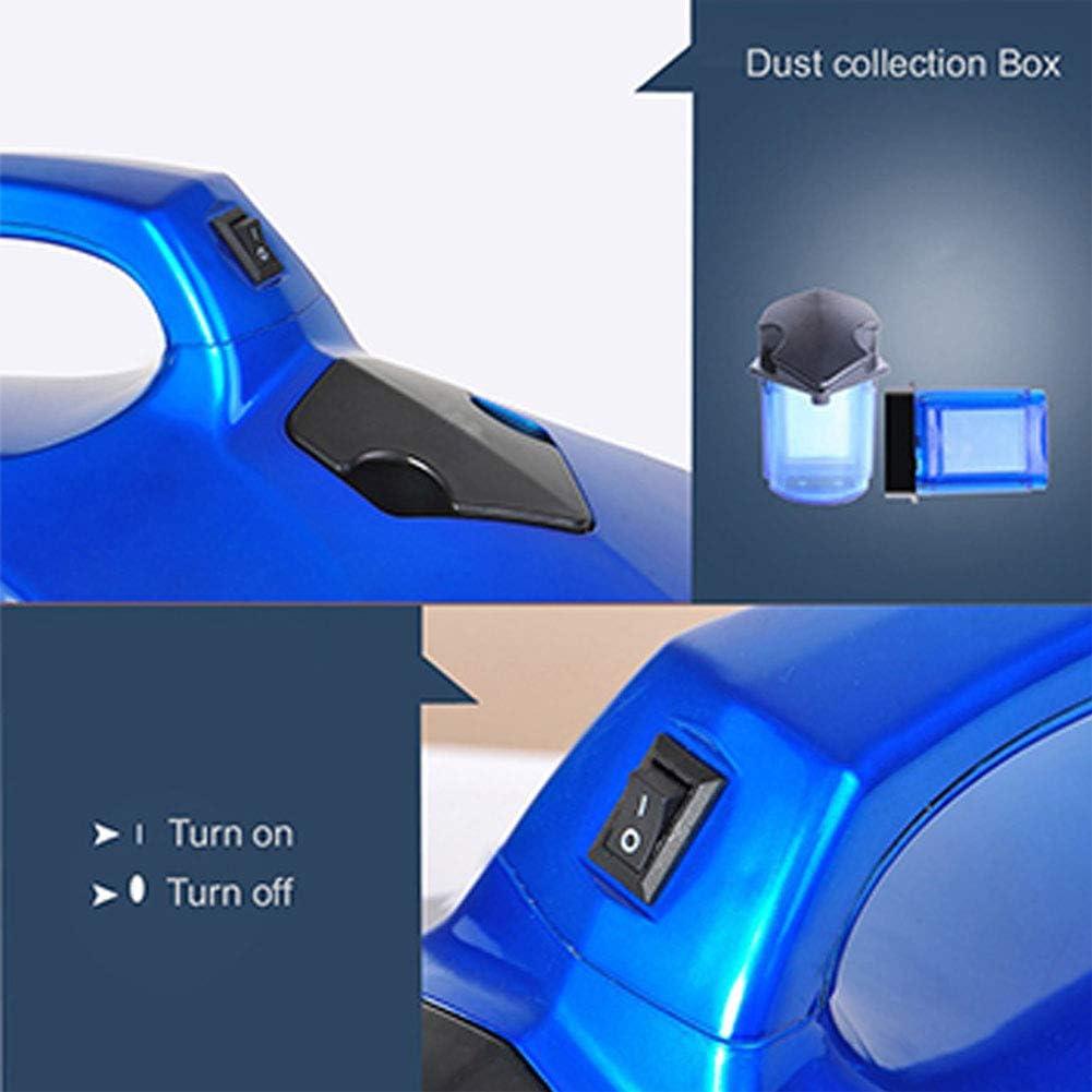 YMN Aspirateur ultrasonique Électrique Anti-Acariens Remover Lit Aspirateur Domestique pour la Maison Canapé-lit,Rouge Blue