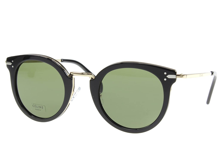 Céline ANW 481E Gafas de Sol, Black Gold, 48 para Mujer ...