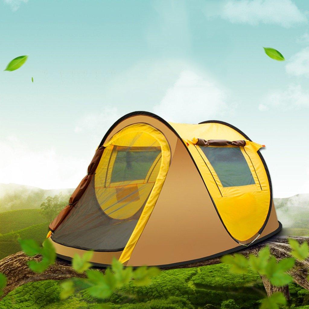 Deng Zelt im Freien 3-4 Personen voll offen Camping 2 Personen, um ein touristisches Zelt zu öffnen