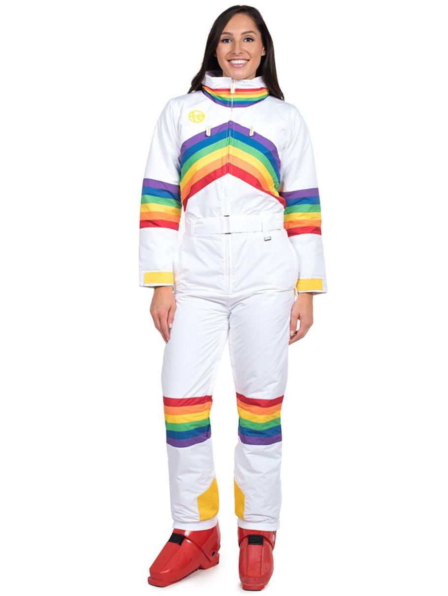 Tipsy Elves Women's Sunrise Shredder Ski Suit: Medium