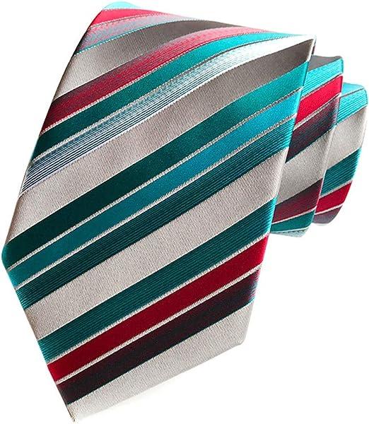 LAAT Corbata de Hombre para Navidad Hilo de Poliester Corbata para ...