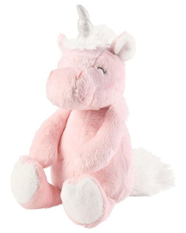 Carters Pink Unicorn Plush