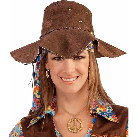 Hippie Brown Suede Floppy Hat  Amazon.ca  Clothing   Accessories 178e96e83b5