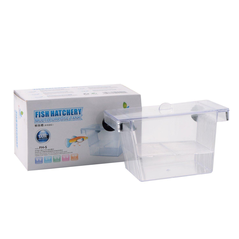 Saim Plastic Aquarium Fish Hatchery Breeder Box
