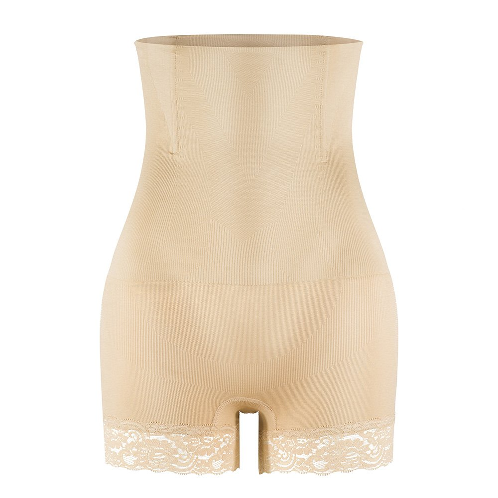 KSKshape Hi-Waist Shapewear Tummy Control Body Shaper Seamless Thigh Slimming Boyshort for Women UKKSP7L
