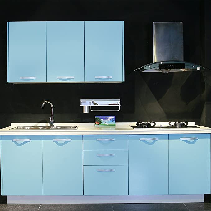 Schönes Leben* 5x0.6M Küchenschrank-Aufkleber küchenfolie Dekofolie ...