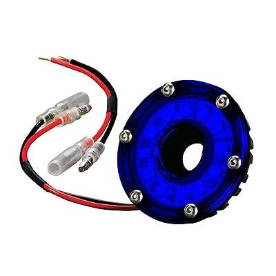 "KC HiLiTES 1354 Cyclone LED 5W 2.2"" Multi-functional Accessory Light - Blue: Automotive"