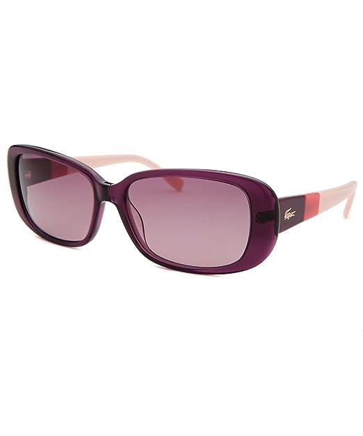 Lacoste Gafas de Sol L749S 513 (57 mm) Morado: Amazon.es ...