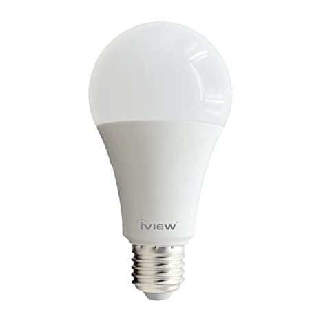 Smart Wifi Led Light Bulb Iview Isb1000 Dimmable Adjustable Ambiance Soft White To Daylight 2700k 6500k No Hub Required Free App Remote Control