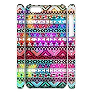 ALICASE Diy 3D Protection Hard Case Aztec Tribal For Iphone 5C [Pattern-1]