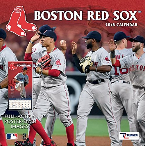 Boston Red Sox 2018 Calendar