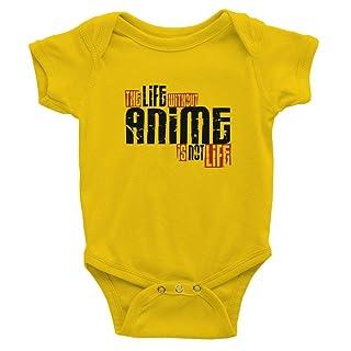 Teeburon Life without Anime is not life Baby Bodysuit