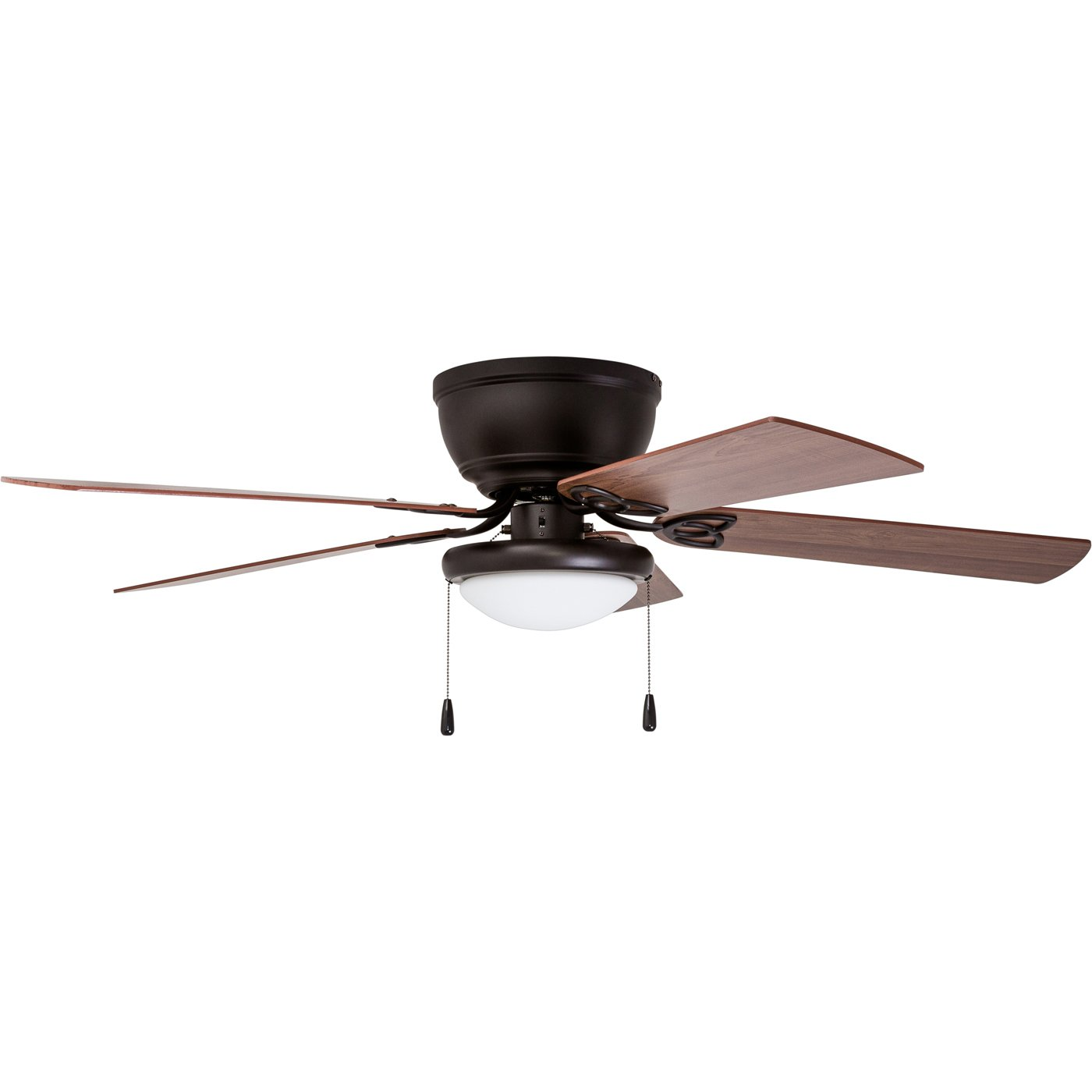 Prominence Home 01 Brealey Hugger Ceiling Fan with LED Bowl