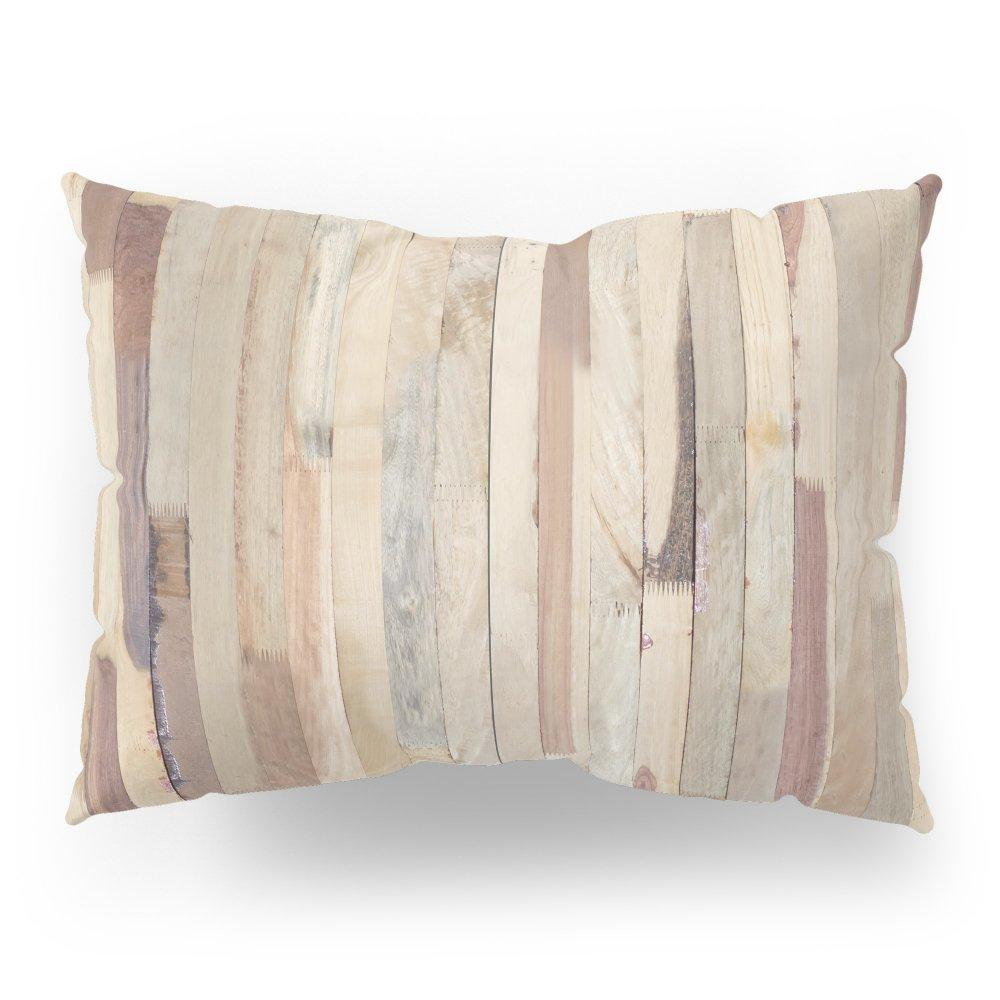Society6 Wood Planks Pillow Sham Standard (20'' x 26'') Set of 2